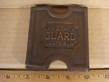Anson Mills Belt Buckle San Quentin Guard Death Row Solid Brass