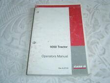 Caseih Case Ih International 9350 tractor operator's manual
