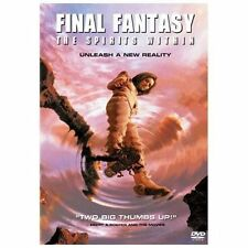 Final Fantasy: The Spirits Within (DVD, 2002) A New Reality -Brand New Sealed !