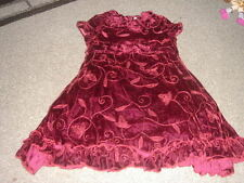 BOUTIQUE HIGH END TRISH SCULLY 2T HOLIDAY DRESS