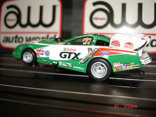 AUTO WORLD ~ Ashley Force Castrol Mustang Funny Car ~ NEW IN JEWEL~ FITS AFX, AW