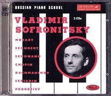 Vladimir SOFRONITSKY Russian Piano School 5 Mozart Scriabin Chopin Prokofiev 2CD