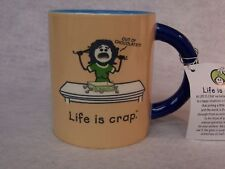 LIFE IS CRAP 'OUT OF CHOCOLATE' MUG - New Old Stock - FUN GIFT
