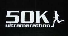 "50k Ultra Marathon Decal Sticker Runner Logo Run *Brand New Design 6"""