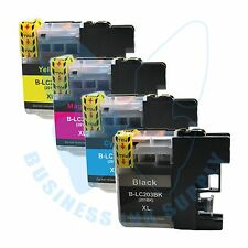 4 PACK New LC 203XL 203 Ink Cartridges For Brother J4620DW J480DW J5720DW J885DW