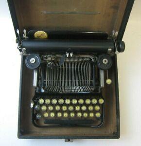1918 Corona 3 Folding Typewriter in Original Case Works Serial #151256