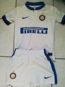 Ensemble Foot Inter de Milan NIKE officiel 6/8 ans