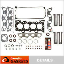 Fit 96-00 Honda Civic Del Sol 1.6L SOHC Head Gasket+Bolt Set D16Y7 D16Y8 D16Y5