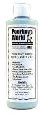 Poorboys World Car Polish With Carnauba Wax Blue For Dark Paint 473ml