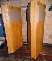 19306 Pair of Vintage Bose 401  Floor Standing Speakers ~ Reflecting Stereo