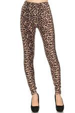 Women's 3X 5X Cheetah Animal Skin Pattern Printed Leggings