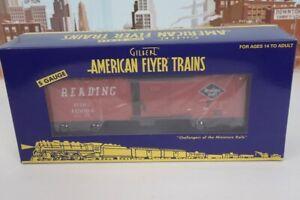 American Flyer S Gauge No.6-44079 Reading 113054 Boxcar NIB