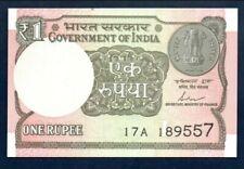 India UNC Note 1 Rupee 2017 P-108