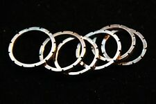 Copper Solid handmade Carved Ring band Custom Size 10 Gear Look Handcrafted NWT