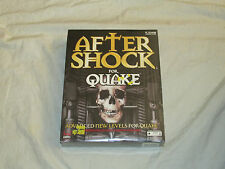 --=>RARE BRAND NEW & SEALED<=-- Aftershock for Quake PC FREE SHIPPING