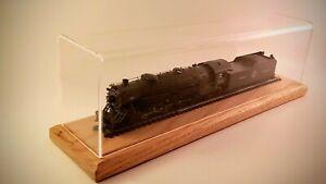 "12"" Long HO Scale Model Train Display Case"