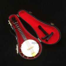 1/6 Scale Handmade wooden banjo traditional model instrument Gift