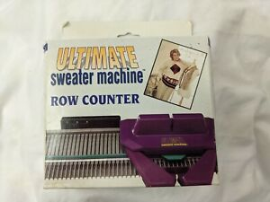 Row Counter Ultimate Sweater Machine (knitting) In Original Damaged Box New