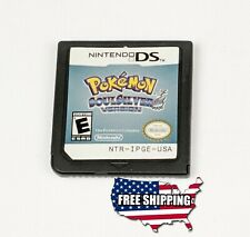 Pokemon Soul Silver Version - Nintendo DS NDS + More...