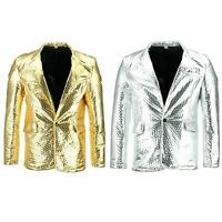 Shiny Metallic Embossed Jacket Firefly Party Dressing up