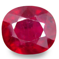 3.425 CTS WONDERFUL LUSTER RED NATURAL RUBY OVAL LOOSE GEMSTONES SEE VIDEO