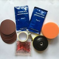 Headlight Restoration Kit and Lens Sealer Restore Plastic Headlamps Lamp Repair