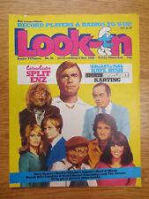 Vintage LOOK-IN MAGAZINE Comic 8 November 1980 KATE BUSH Split Enz