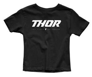 Thor MX Motocross Youth Loud 2 T-Shirt (Black) Choose Size