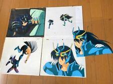 Raro Saint Seiya dragón Púrpura Oscuro Negro Siegfried Anime cel Genga DOUGA Jp