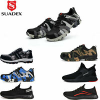 Mens Indestructible Safety Work Shoes Steel Toe Boots Bulletproof Sneakers Size