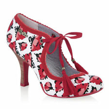 Ruby Shoo Stiletto Court Floral Heels for Women