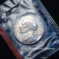 1961 D Jefferson Nickel from US Mint Set and Still in Mint Cellophane