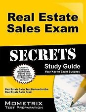 Real Estate Sales Exam Secrets Study Guide: Real Estate Sales Test Review for th