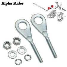 FOR HONDA CHAIN ADJUSTERS + WASHERS AND NUTS CT XR CRF 50 70 80 100 95014-10010