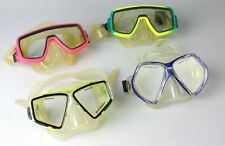 lot of 4  Sea Quest, U.S. Divers Tempered Glass Scuba Masks