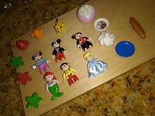 Lego Duplo 17 Piece Lot - Figures, Mickey, Minnie, Little Mermaid, and more.