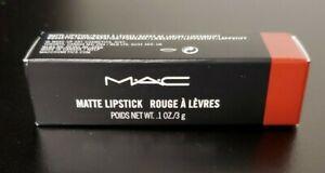 Mac Matte Lipstick 602 Chili 0.1 oz New with Box