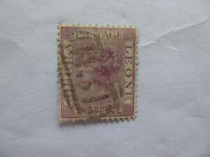 S Leone 1873 2d  cc wmk used