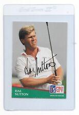 HAL SUTTON Signed 1991 PRO SET Golf Card #132 PGA Tour 1983 PGA Championship