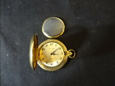 Old Vtg 1979 Andre Rivalle 17 Jewels Incabloc Swiss 25 Years Pocket Watch