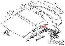 Genuine BMW Retractable Top Molding Right Trim Cover OEM M4 (07-16) 54377184048