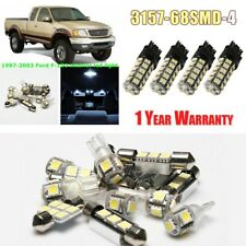 Interior Bulb Kit & Exterior LED Turn Signal Light For 1997-2003 Ford F-150 F150