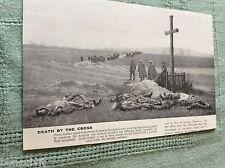 m10a ephemera ww1 picture 1914 poland a wayside cross