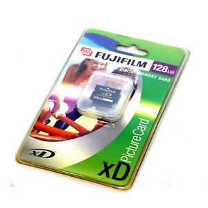 Fujifilm XD PictureCard 128MB Digital Memory Card - New Sealed