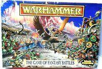 Warhammer The Game of Fantasy Battles Box Set, 1992, Games Workshop, incomplete