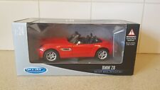WELLY - BMW Z8 RED PAINT WORK 1:24 SCALE
