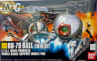 RB-79 Ball Twin Set E.F.S.F. Support Mobile Pod - Bandai Kit HG 1:144 Gundam UC