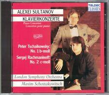 Alexei SULTANOV TCHAIKOVSKY Piano Concerto No.1 RACHMANINOV No.2 CD Shostakovich