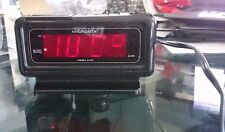 Vintage Micronta Green Led Alarm Clock Working!!!! Ships in 24 hours!
