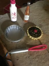 American Girl Doll Desserts, Wisk, Drink Water Bottle And Tart Pan
